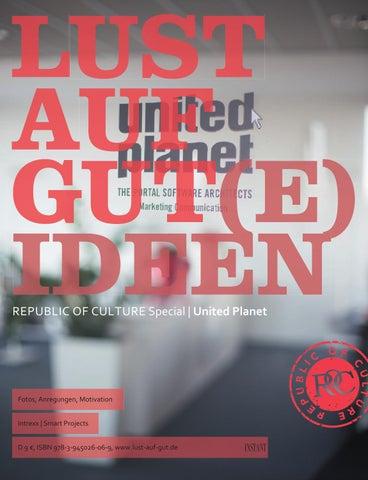 LUST AUF GUT Magazin | Special: United Planet LUST AUF GUTE IDEEN