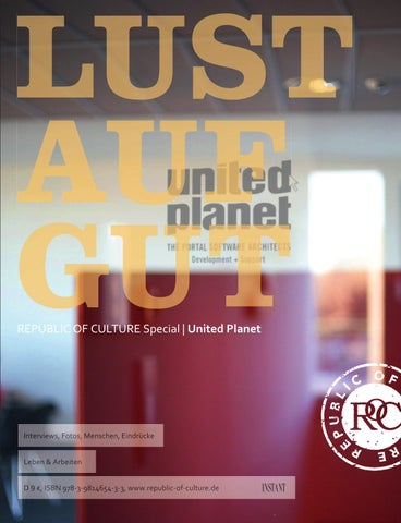 LUST AUF GUT Magazin   Special: United Planet Relaunch