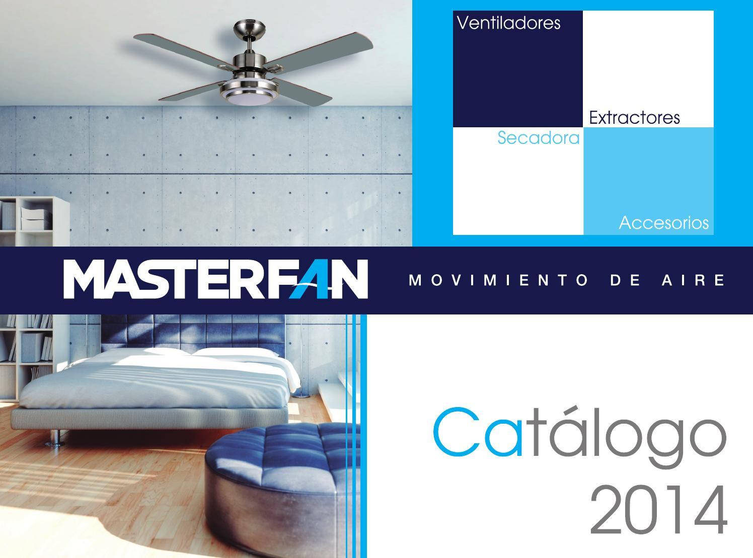 Catalogo producto by masterfan issuu - Ventiladores decorativos ...