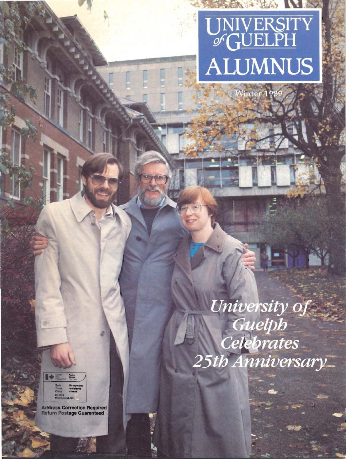 academy of natural sciences 2013 2014 annual report by eastern guelph alumnus magazine winter 1989