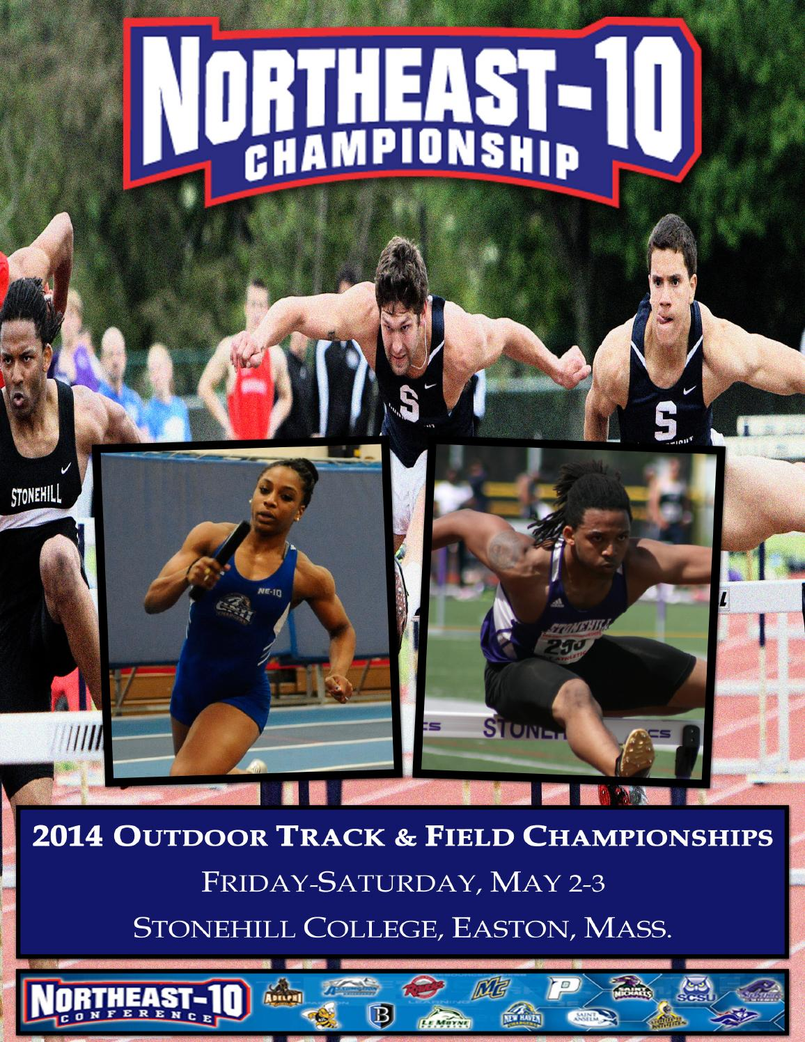 2014 Northeast 10 Outdoor Track Amp Field Championships By