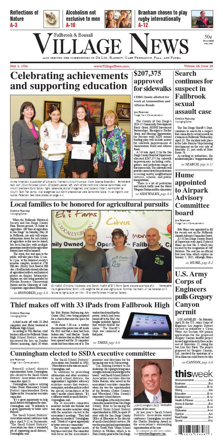 fallbrook village news by village news inc issuu fallbrook village news