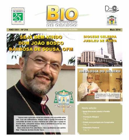 [Bio Diocesano Maio 2014]
