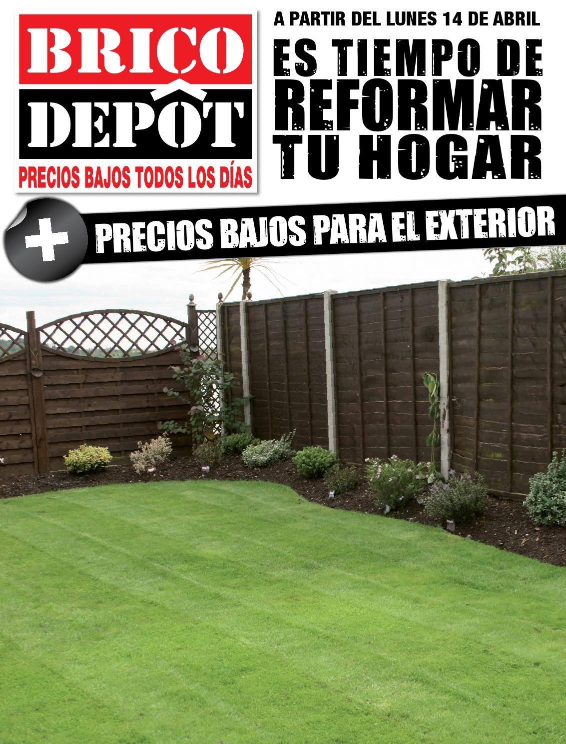 Catalogo especial jard n sevilla norte by losdescuentos for Gresite piscina bricodepot