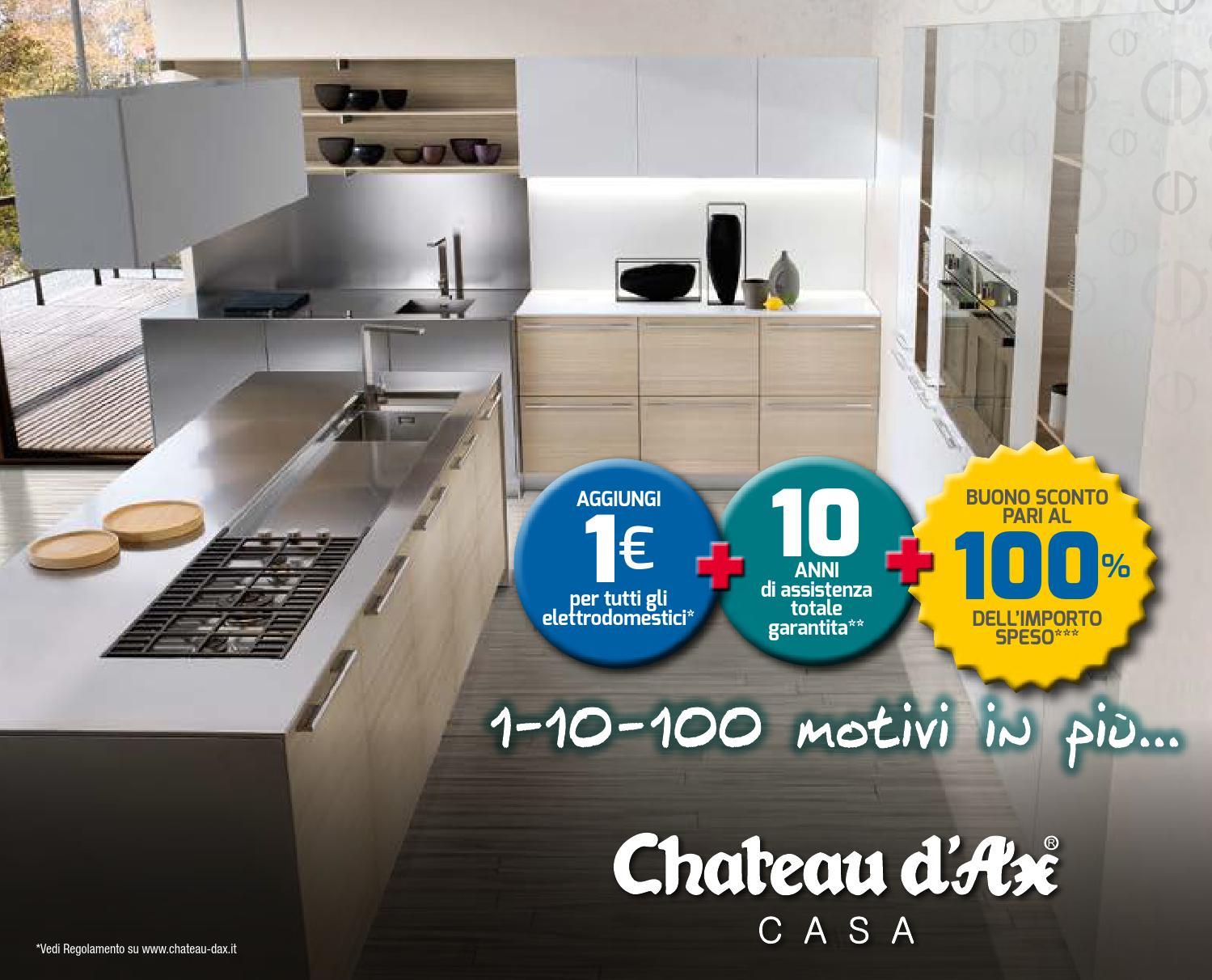 Chateau d 39 ax depliant cucine 2014 by mobilpro issuu - Chateau d ax prezzi cucine ...