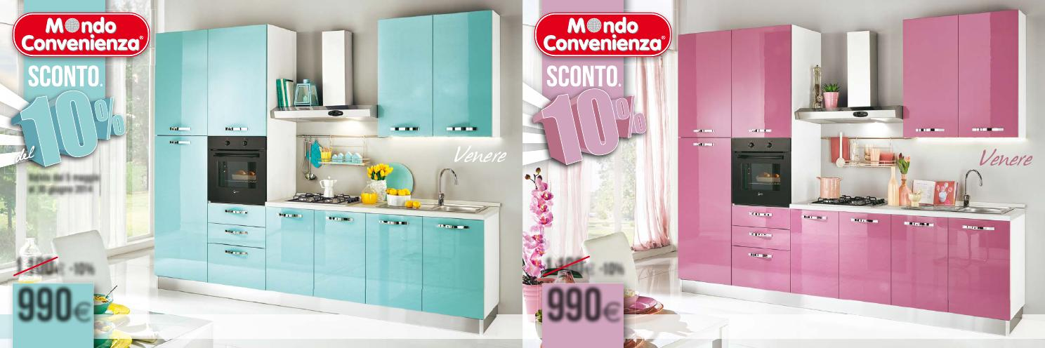 Mondoconvenienca volantino estate2014 by issuu - Cucine colorate ikea ...