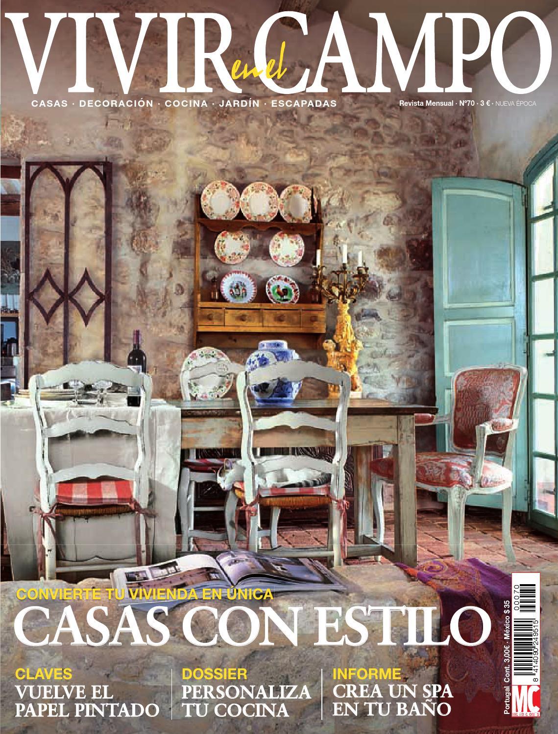 Vivir en el campo by sucalon issuu for Casa de campo de estilo ingles decoracion