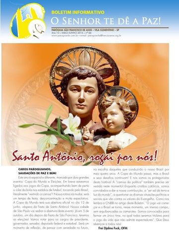 """[Informativo """"O Senhor te dê a Paz!"""" (mai-jun/2014)]"""