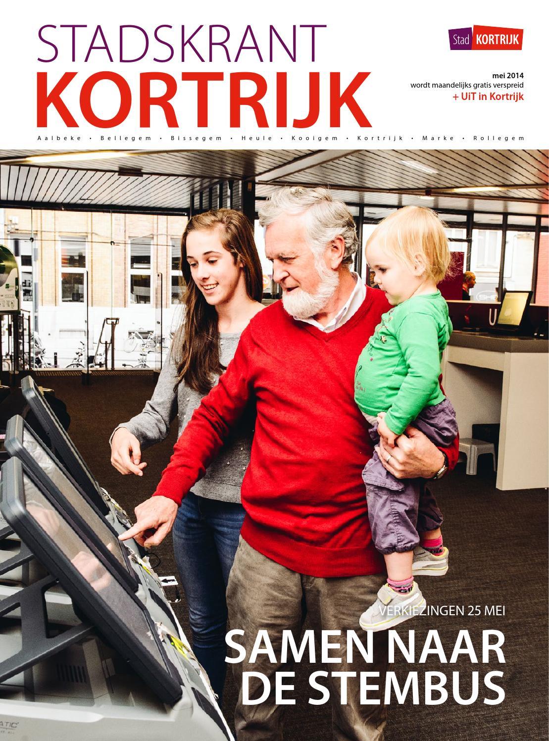 Stadskrant kortrijk mei 2015 by stad kortrijk   issuu