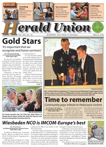 Herald Union - May 8, 2014