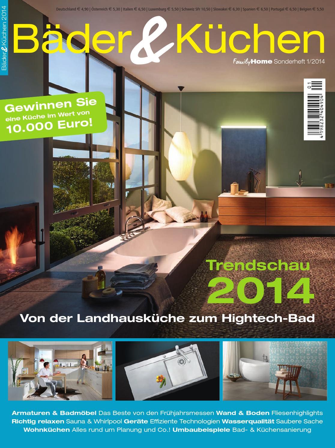 Bäder & küchen 2015 by family home verlag gmbh   issuu