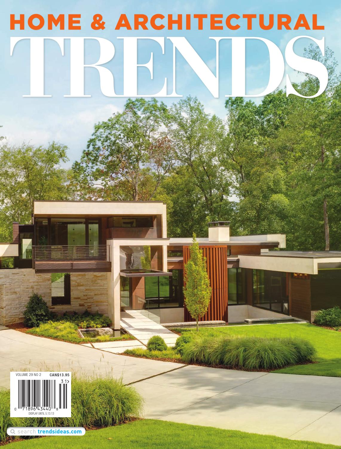 HOME amp; ARCHITECTURAL TRENDS USA Vol 29/02 by trendsideas