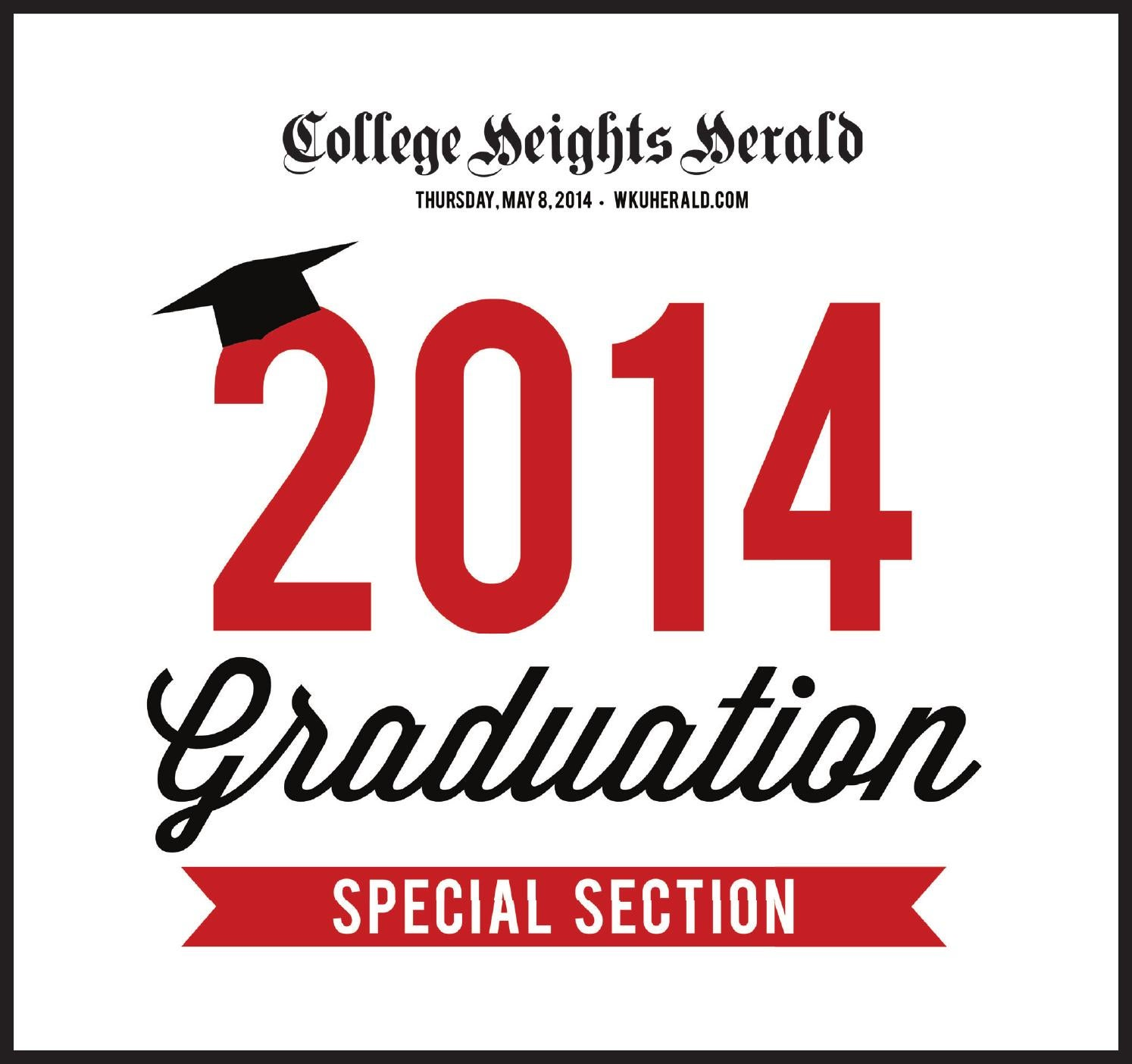 graduation section by college heights herald issuu