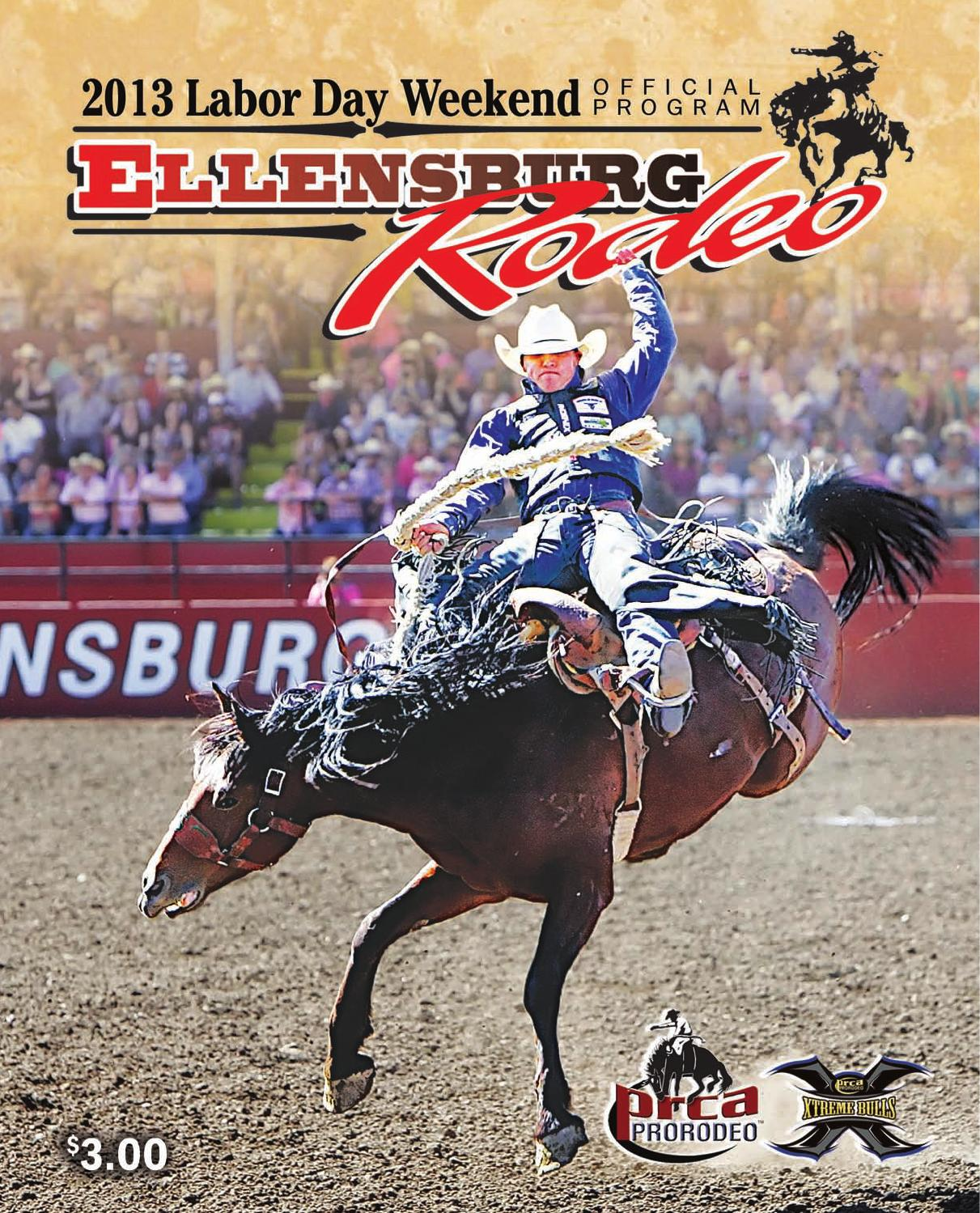 2013 Rodeo Program By Daily Record Issuu