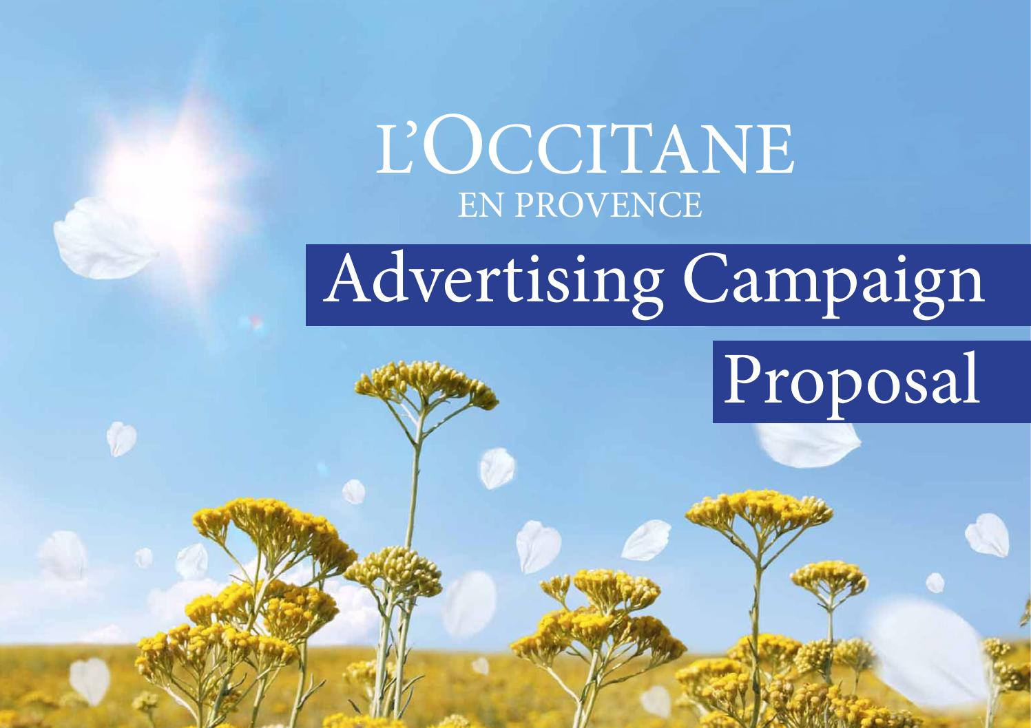 l occitane advertising campaign proposal by alana mustill issuu