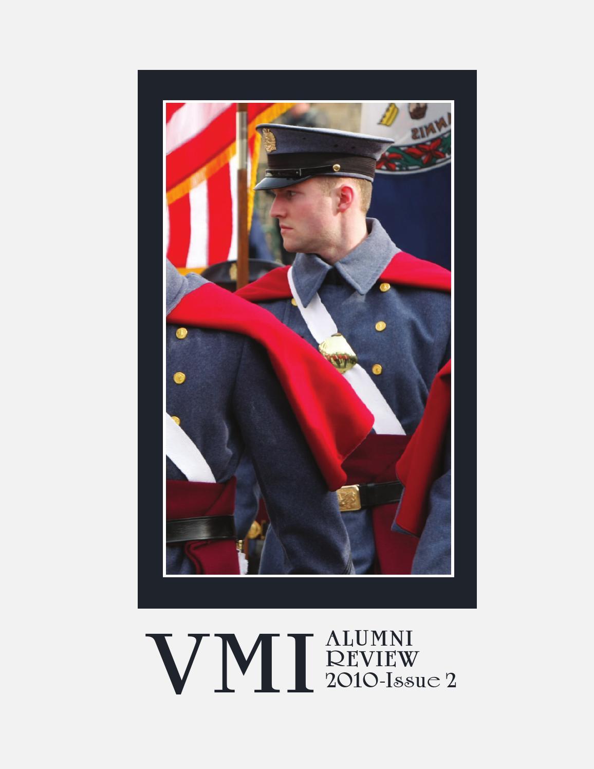 Alumni Review 2010 Issue 2 By Vmi Alumni Agencies Issuu