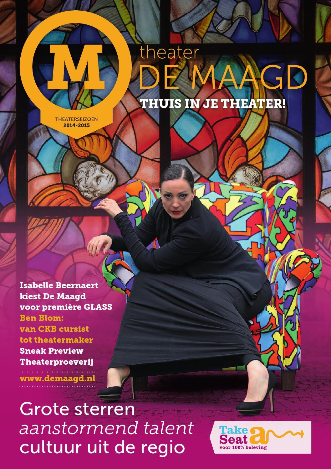 Maagdmagazine 2014-2015 by Theater De Maagd - issuu