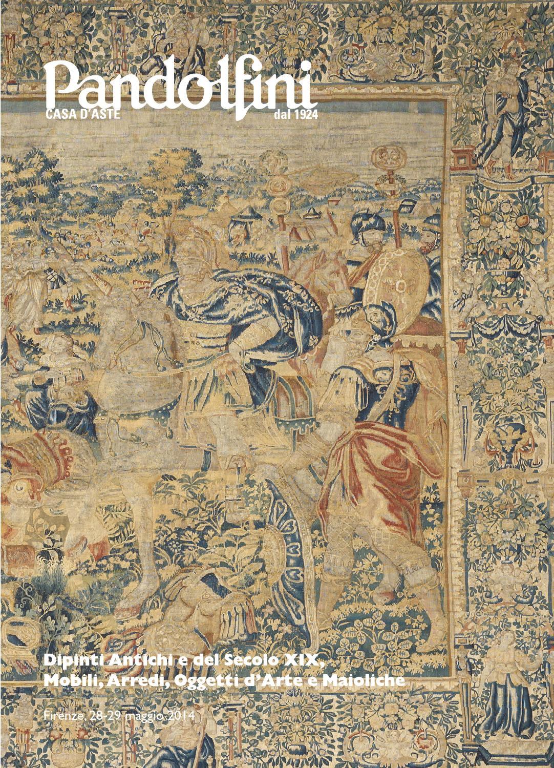 Asta dipinti antichi dipinti del secolo xix mobili for Asta mobili antichi
