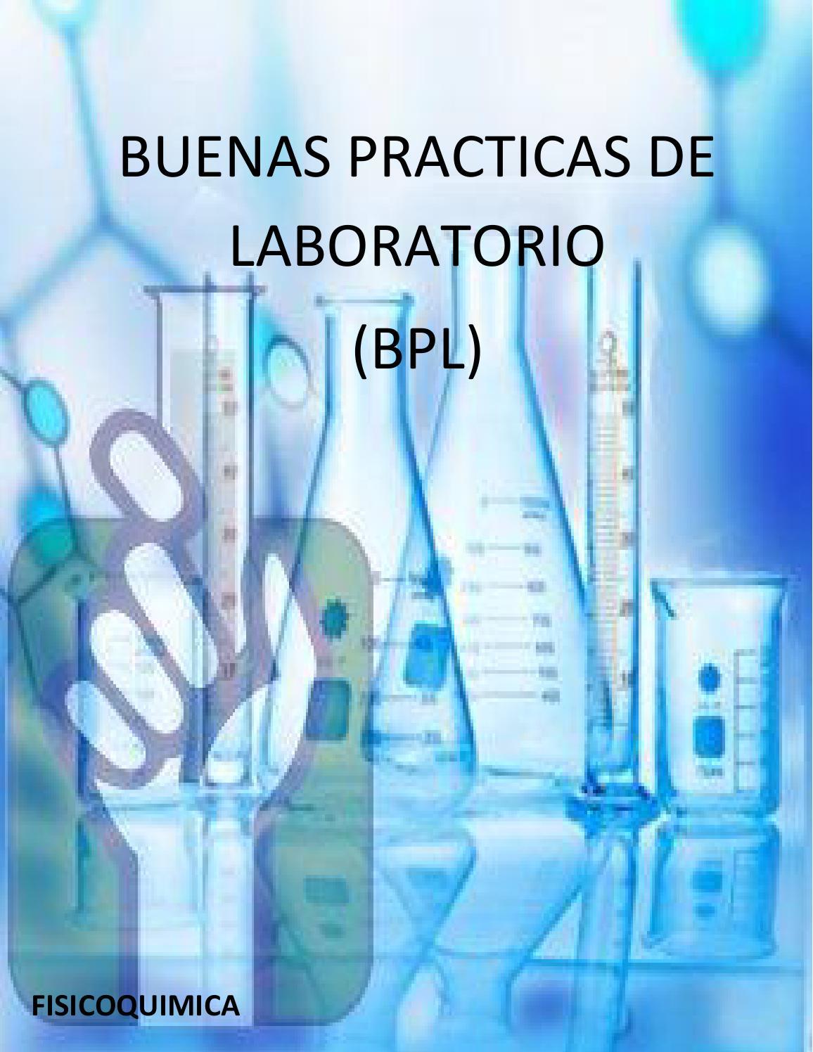 Cartilla de buenas practicas de laboratorio by jeimy parra