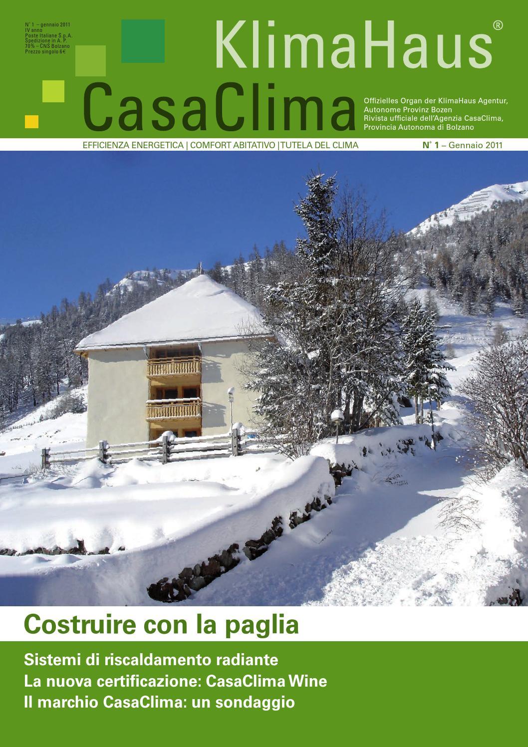 KlimaHaus CasaClima nr 1/2016 by KlimaHaus Agentur Agenzia ...