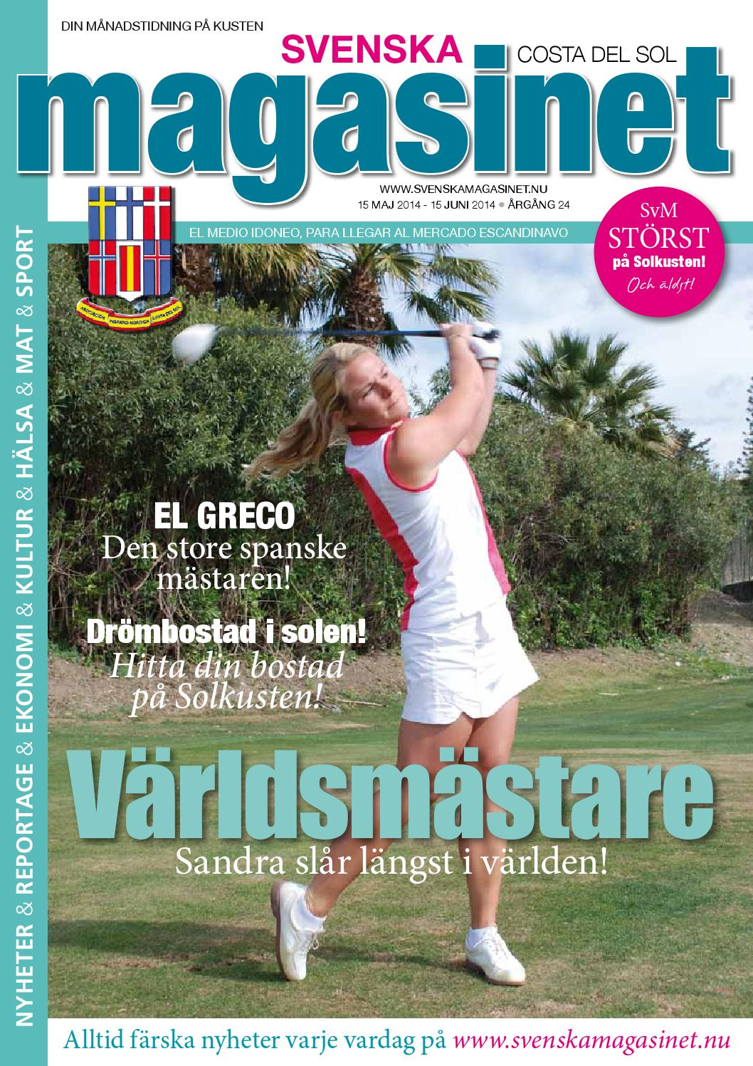 Jan 2015 by svenska magasinet, spanien   issuu