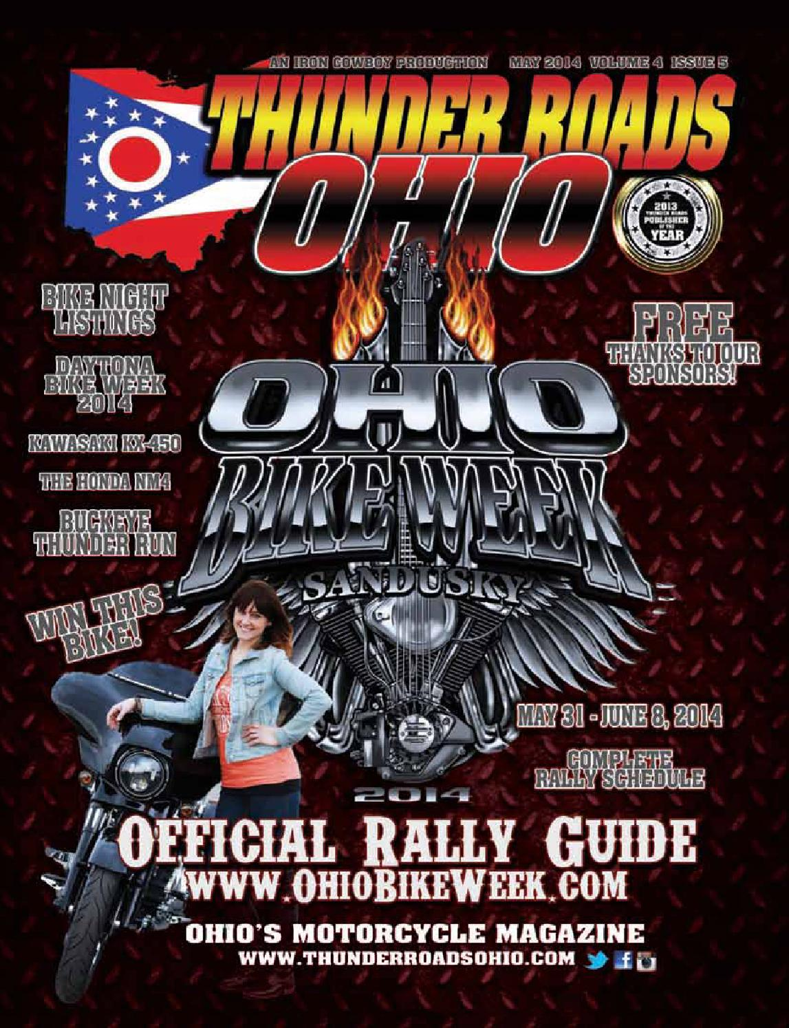 thunder roads ohio by thunder roads ohio magazine issuu thunder roads ohio 2014