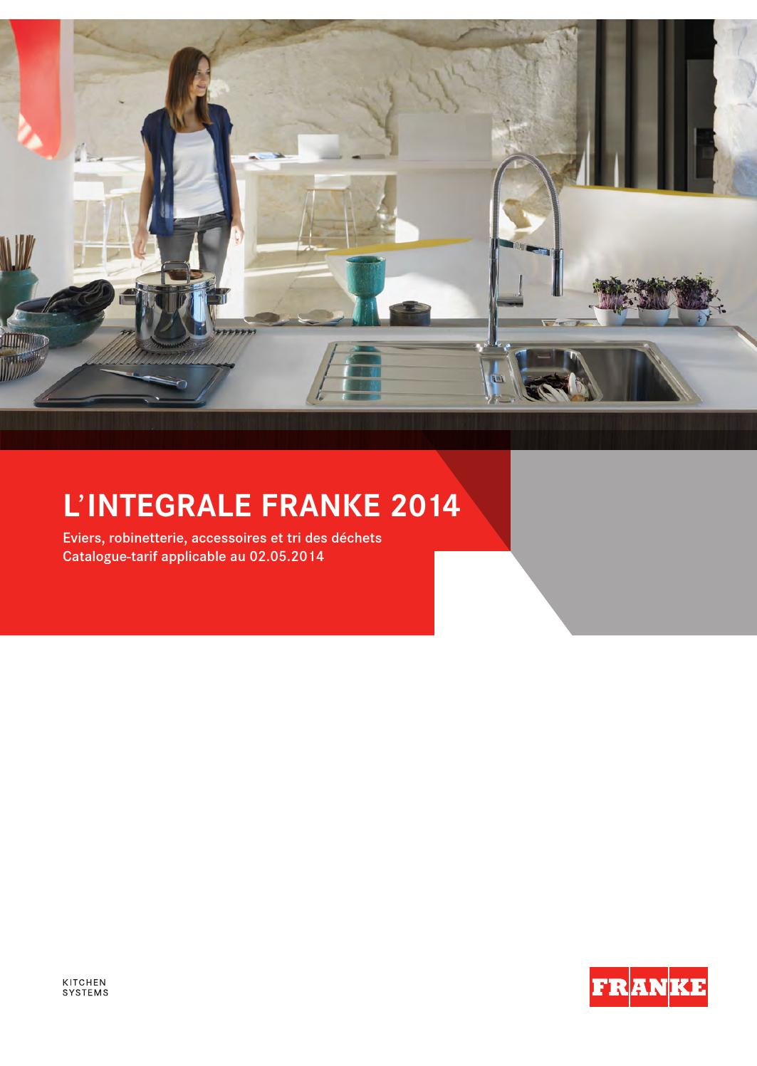 catalogue franke 2014 by direct vente ets pejout sarl issuu. Black Bedroom Furniture Sets. Home Design Ideas