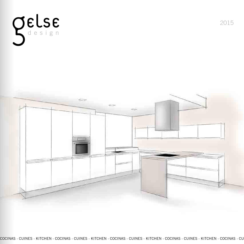Gelse catalogo cocinas barcelona by grupo aj dise o web tiendas online issuu - Gelse cocinas ...