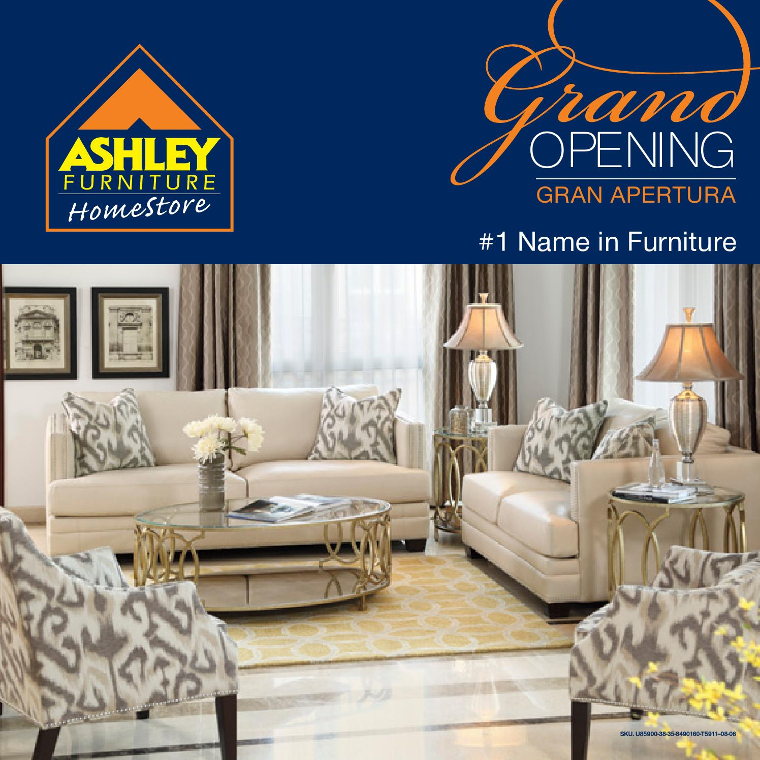 Gran Apertura Ashley Furniture HomeStore RD By Ashley