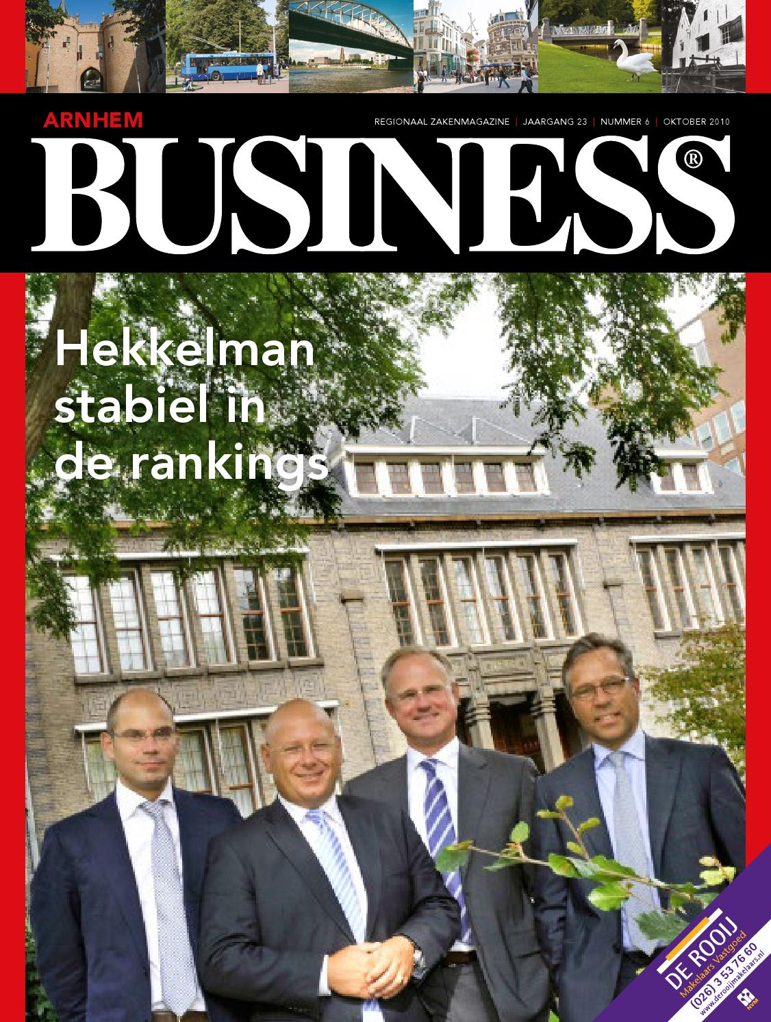 2010   arnhem business 6   oktober by arnhem business   issuu