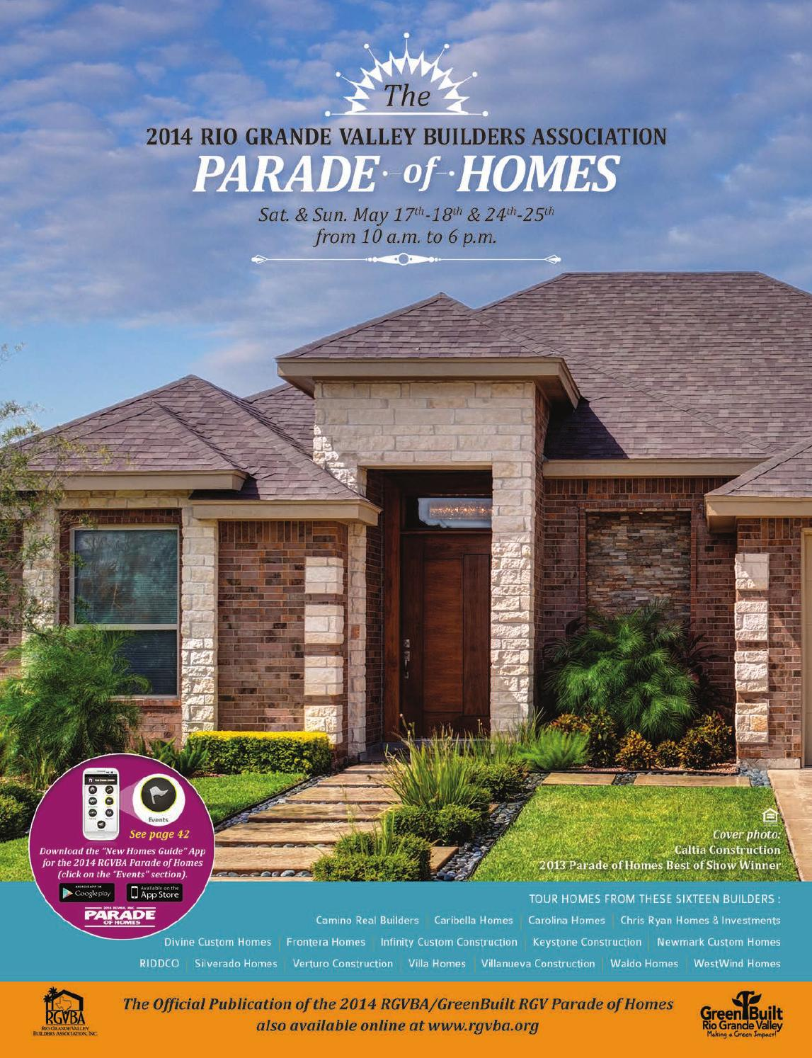 Rgv Parade Of Homes 2014 By Digital Publisher Issuu