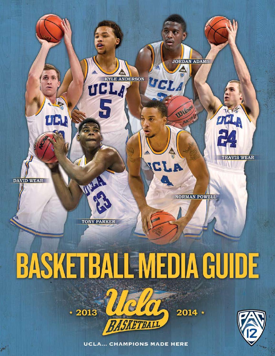 2013-14 UCLA Men's Basketball Media Guide by UCLA Athletics - issuu