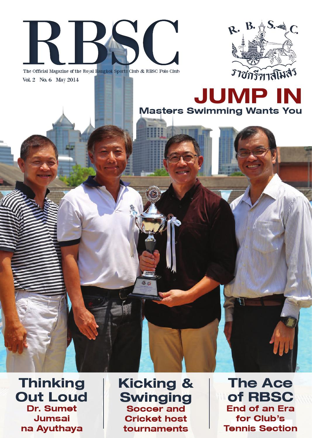 Rbsc magazine may 2014 by the royal bangkok sports club for Anothai cuisine menu