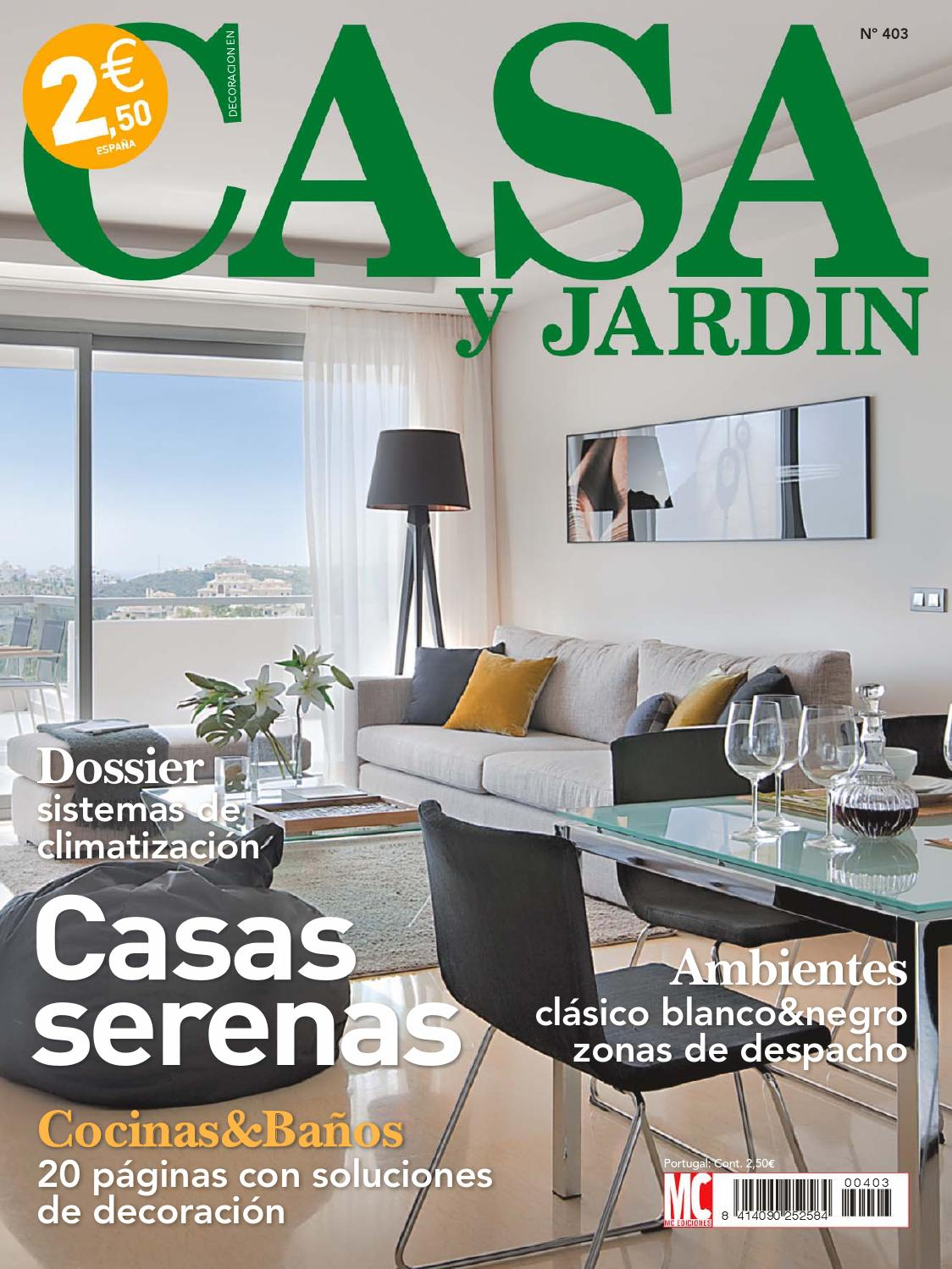 Casa y jardin by sucalon issuu for Jardin interior decoracion