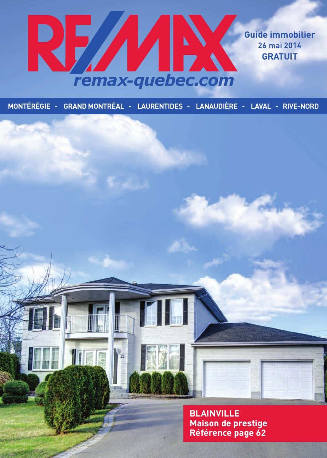 Quebec remax montreal 26 may 2014 by yp nexthome issuu for Garage grand nord automobile nieppe