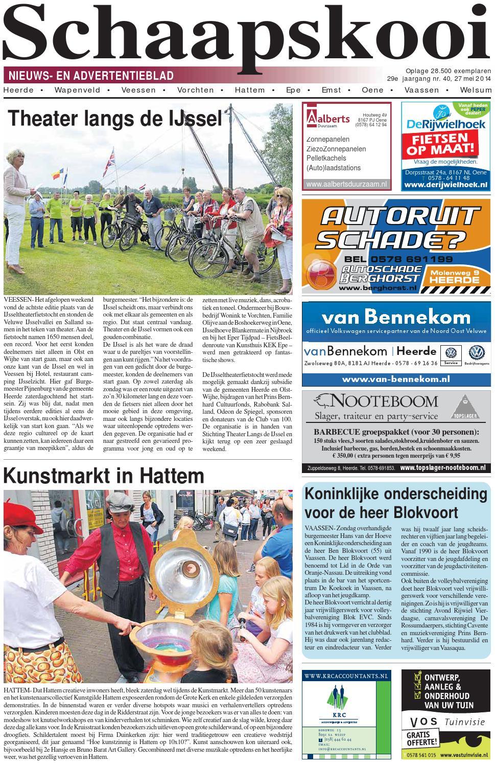 Schaapskooi week 22 2014 by schaapskooi - issuu