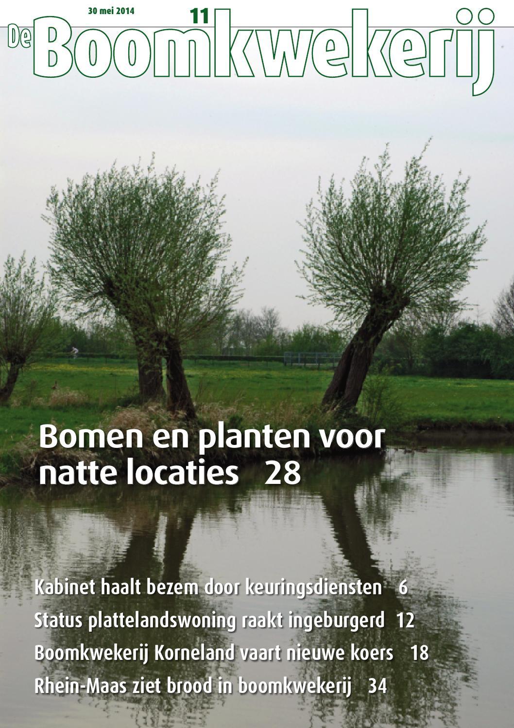 De boomkwekerij 9   2014 by stichting vakinformatie siergewassen ...