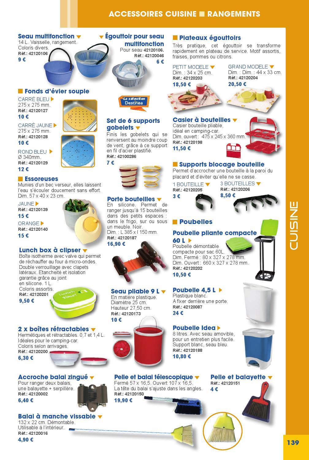 6 catalogue destin a 2014 cuisine by destin a accessoires for Catalogue accessoires cuisine