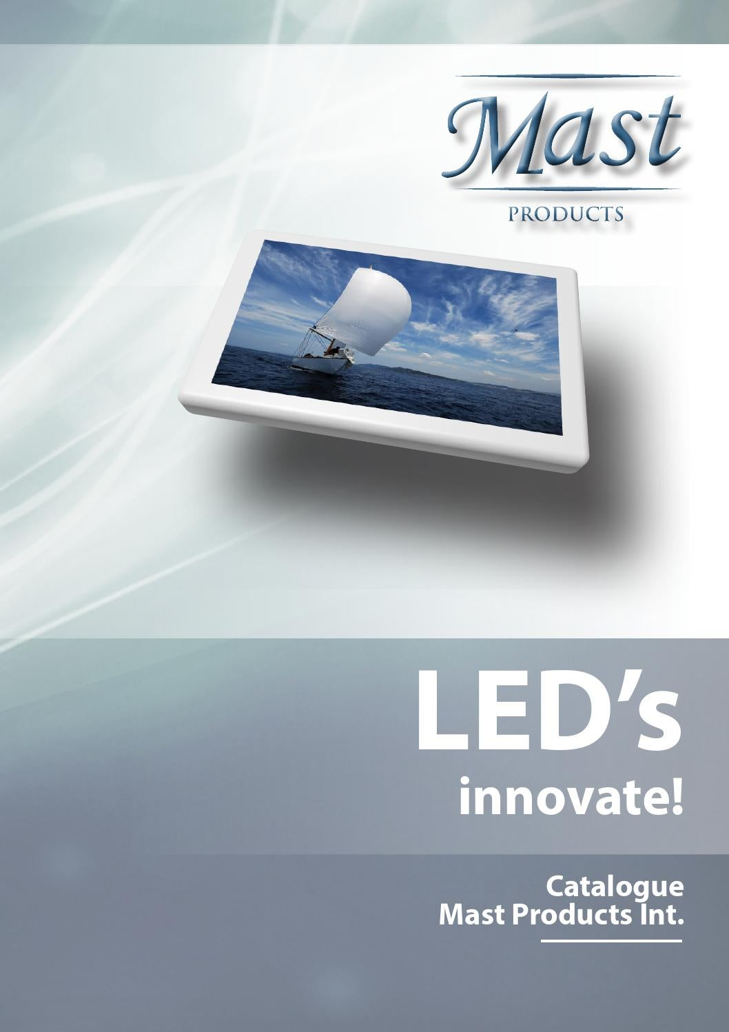 MAST Products Led Lights Catalogue 2014 By Marcel