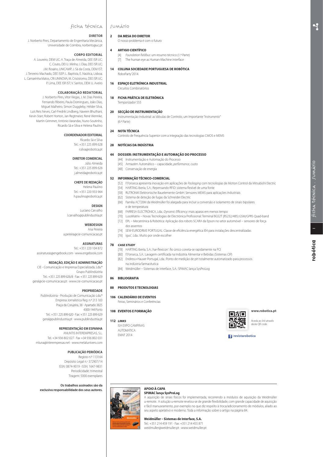 resumã in resuma revista rob 243 tica 95 by revista robotica issuu