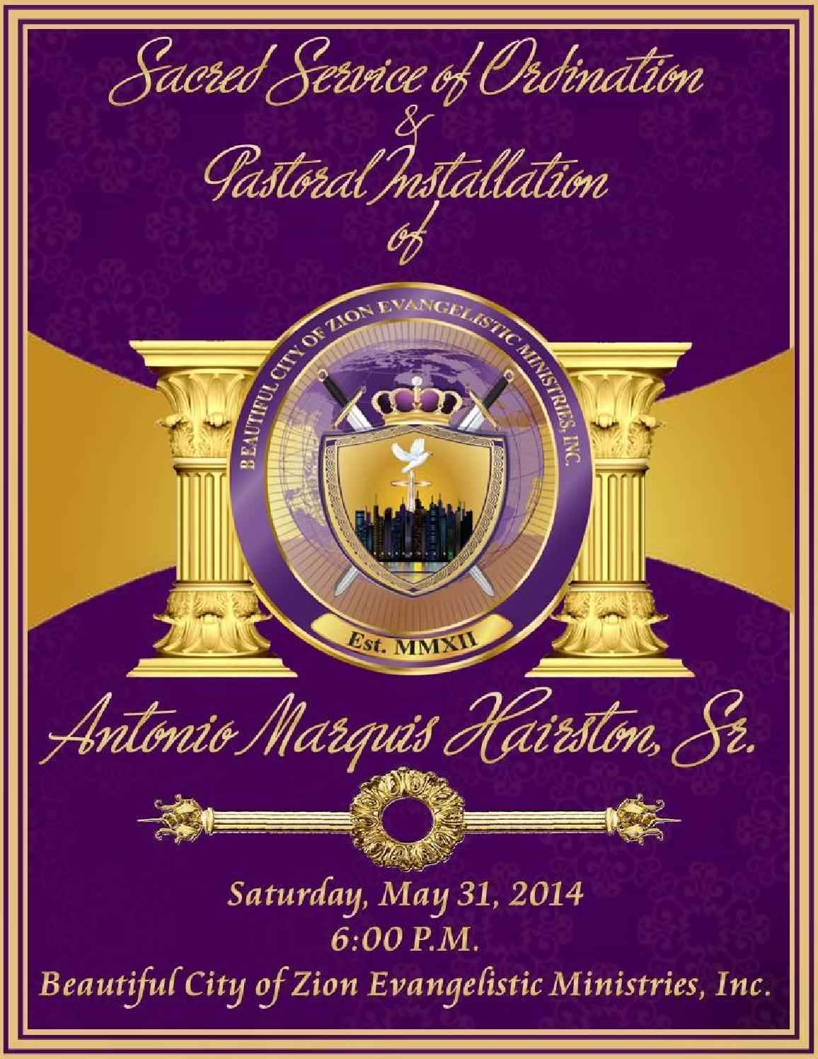 Bishop Consecration Invitation for perfect invitation template
