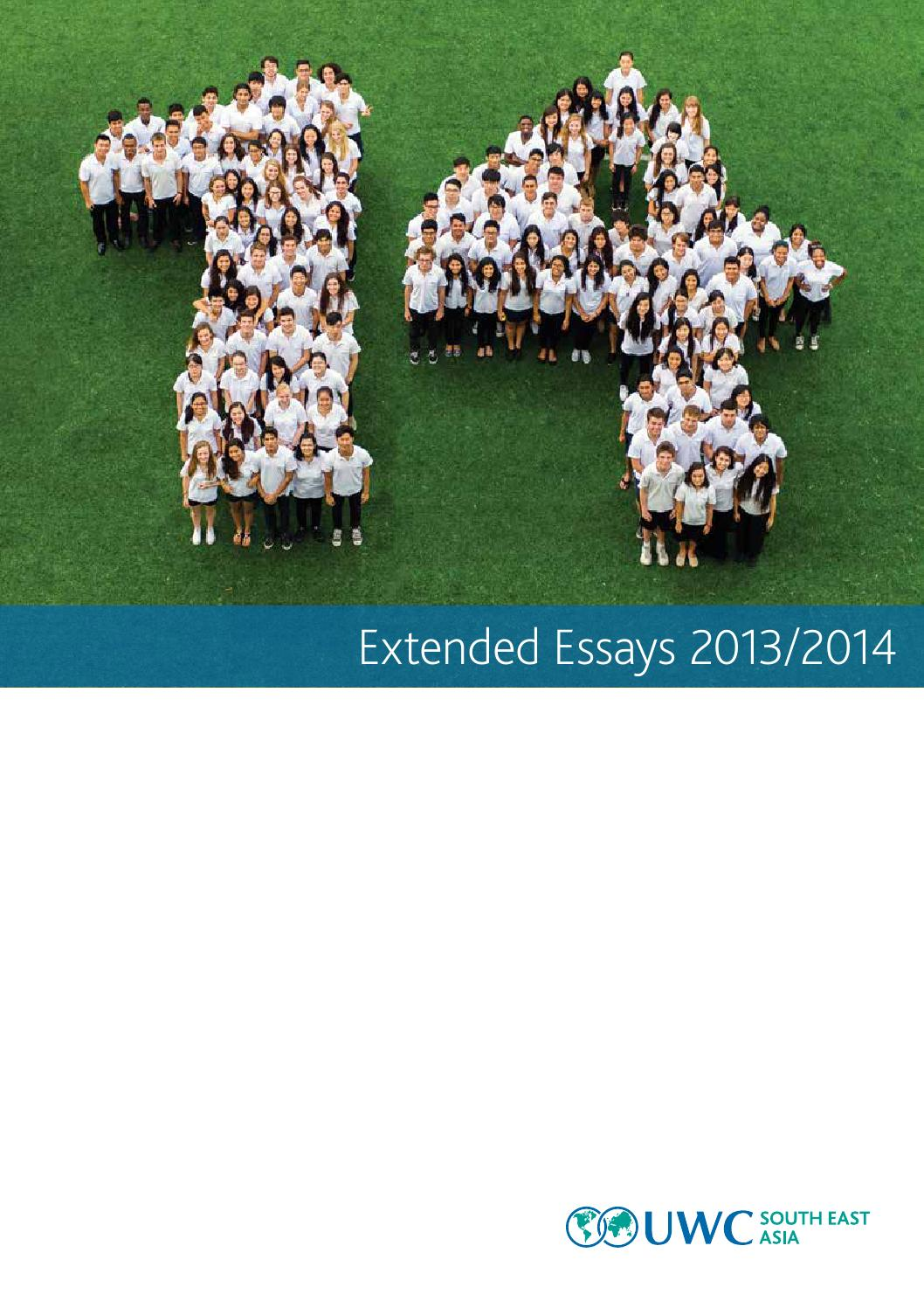 international baccalaureate extended essay topics