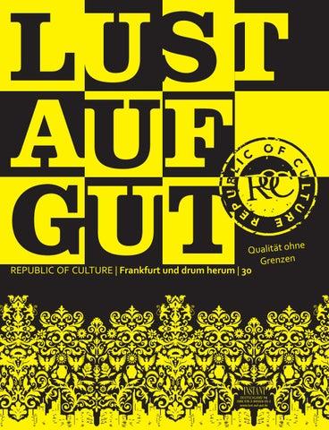 LUST AUF GUT Magazin | Frankfurt Nr. 30
