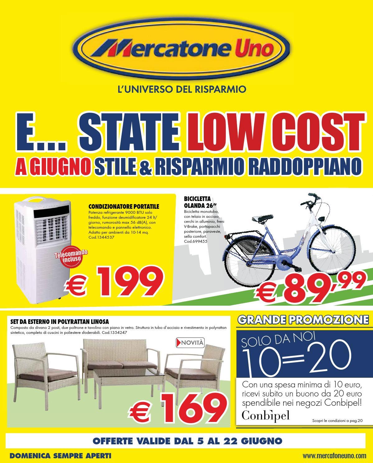 Mercatoneuno Catalogo 5 22giugno2014 By CatalogoPromozioni.com Issuu #C7B804 1199 1488 Tavoli A Consolle Mercatone Uno