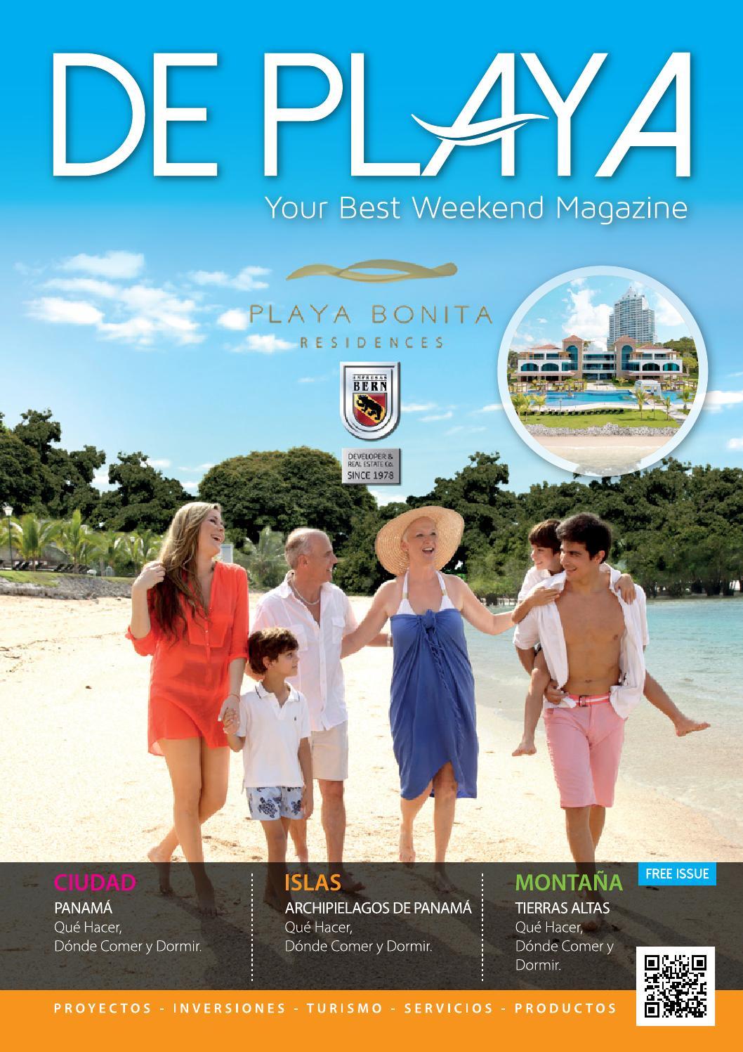 Revista de playa panam by massmedia latam agencia for Hoteles para familias en la playa