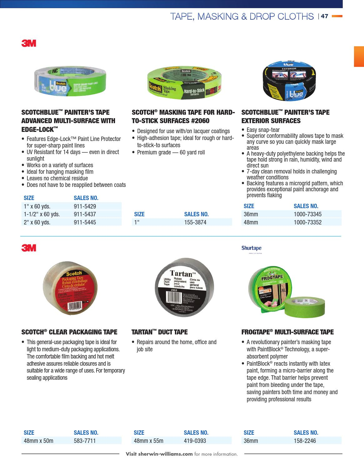 Canada Catalogue 2014 Coatings Supplies Equipment By Sherwin Williams Page 49 Issuu