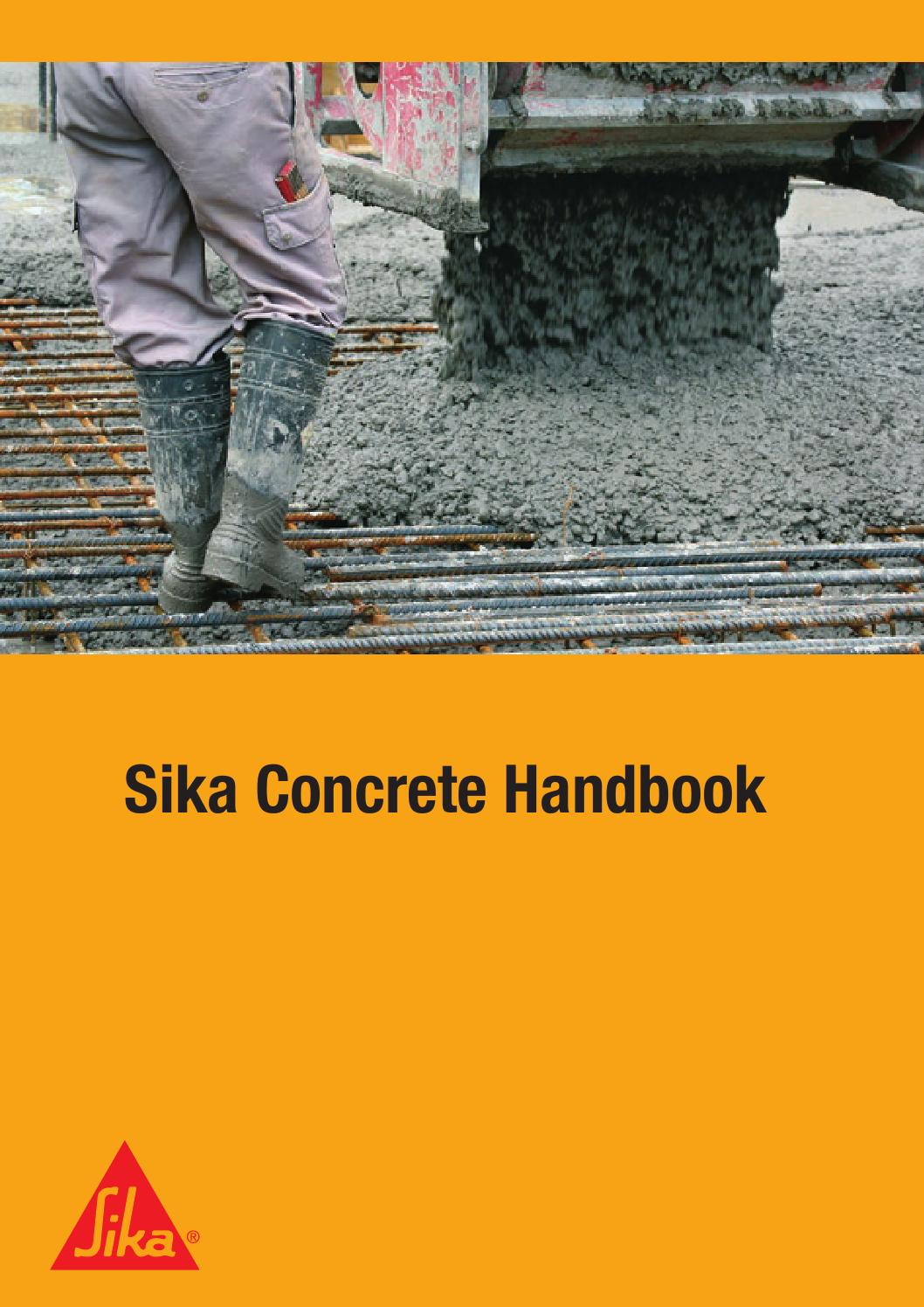 sika concrete handbook by sika ag issuu. Black Bedroom Furniture Sets. Home Design Ideas