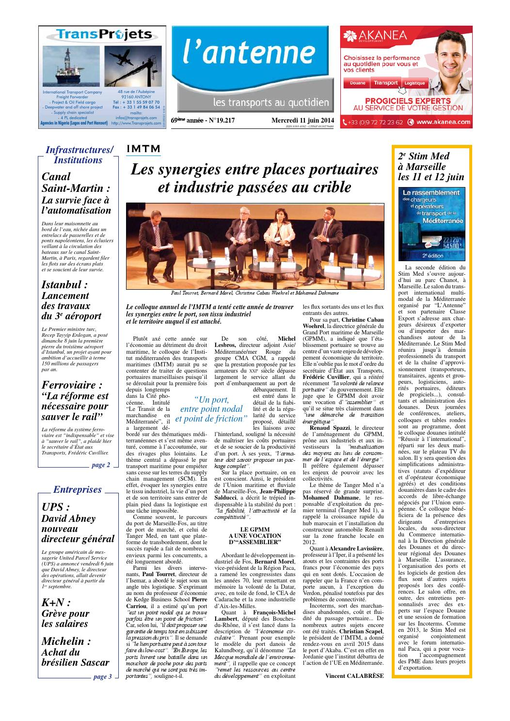 Lantenne 11 06 2014 by l 39 antenne smeci issuu for Antenne 2 telematin cuisine