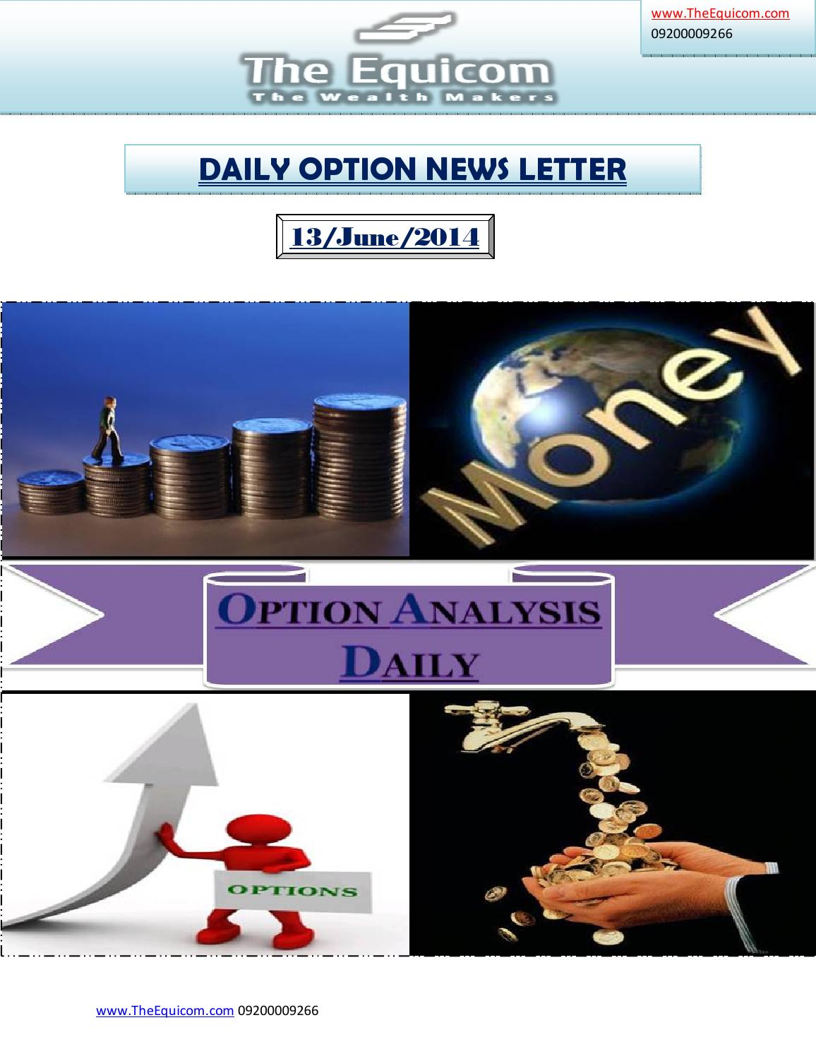 Stock options today