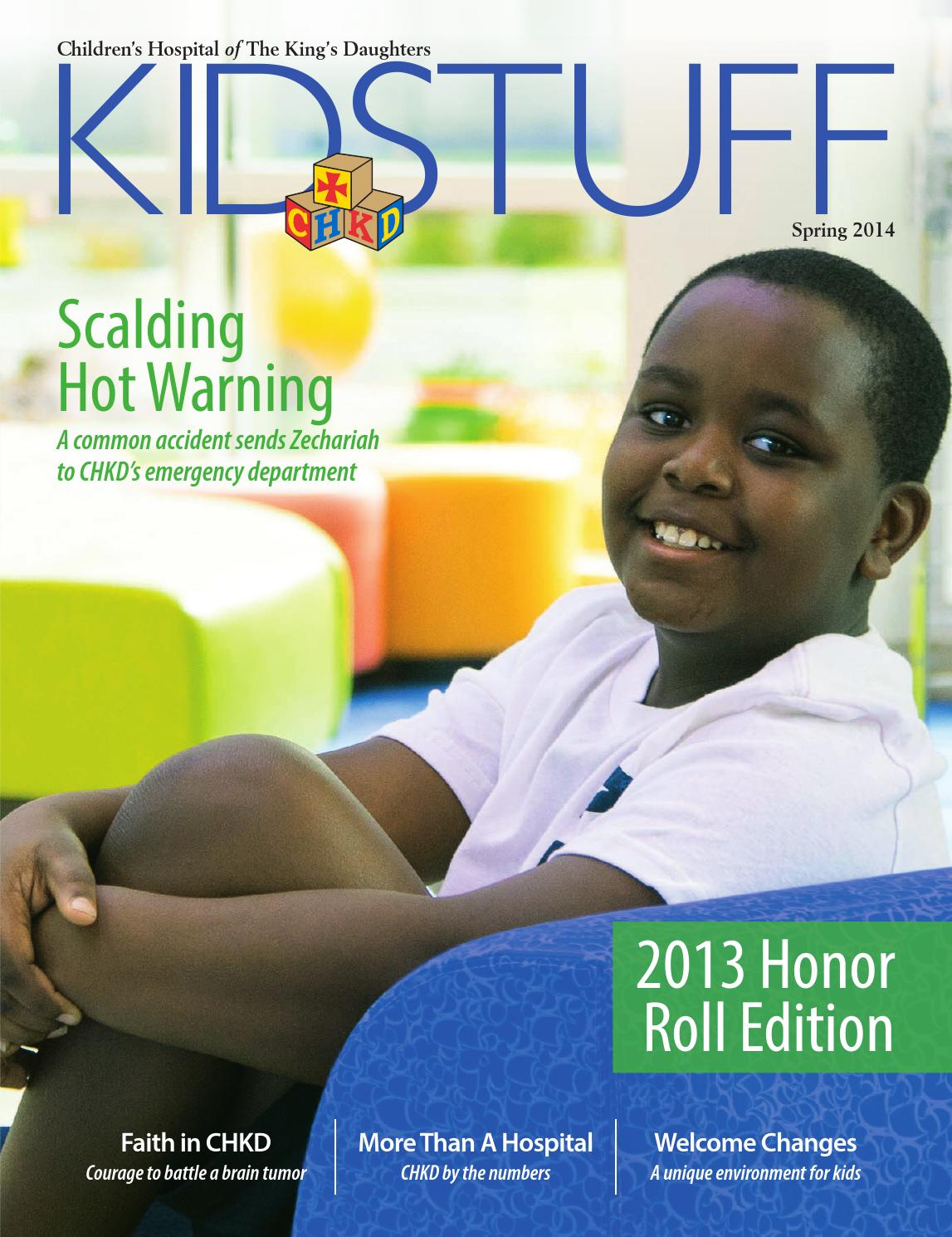 Chkd Kidstuff Spring 2014 By Children S Hospital Of The